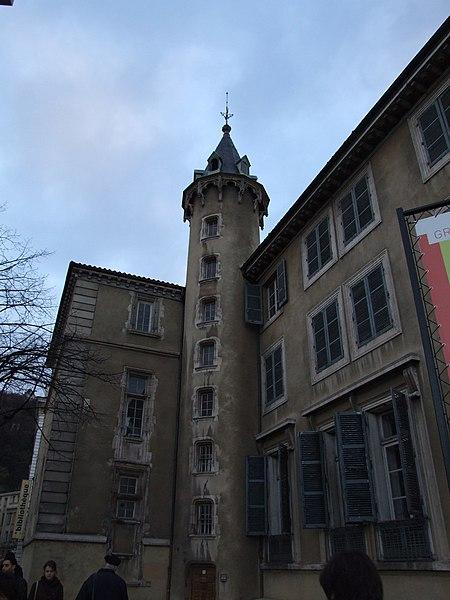Photo du Monument Historique Palais archiépiscopal situé à Lyon