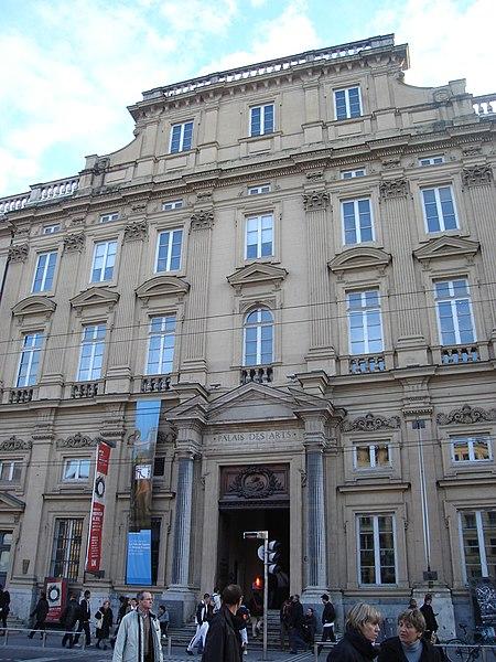 Photo du Monument Historique Palais Saint-Pierre ou ancienne abbaye des Dames de Saint-Pierre situé à Lyon