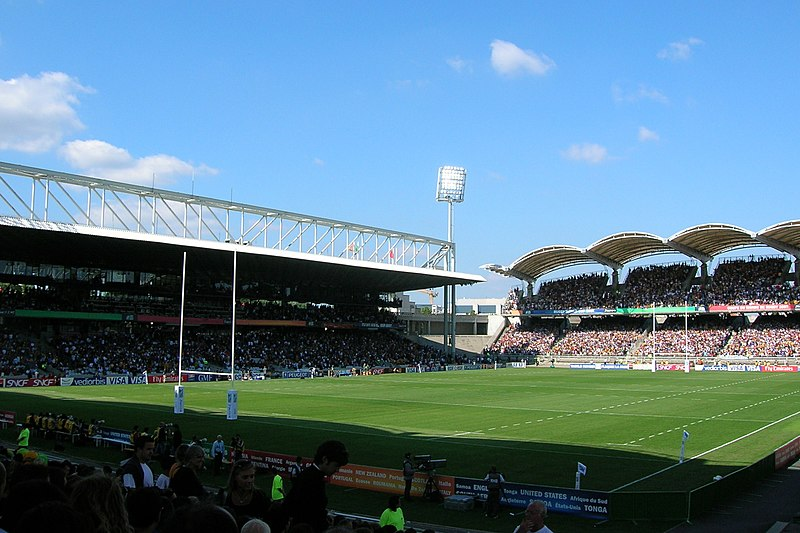 Photo du Monument Historique Stade municipal dit stade Gerland situé à Lyon 07