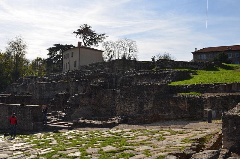 Photo du Monument Historique Temple de Cybèle situé à Lyon