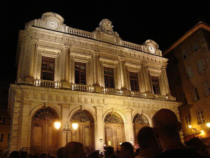 Photo du Monument Historique Ancienne Loge du Change, ancien Temple protestant situé à Lyon