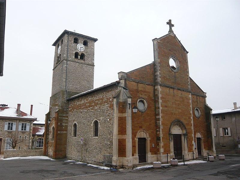Photo du Monument Historique Eglise situé à Morancé