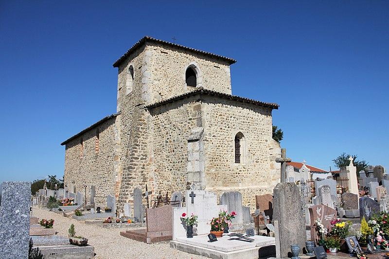 Photo du Monument Historique Cimetière situé à Pusignan
