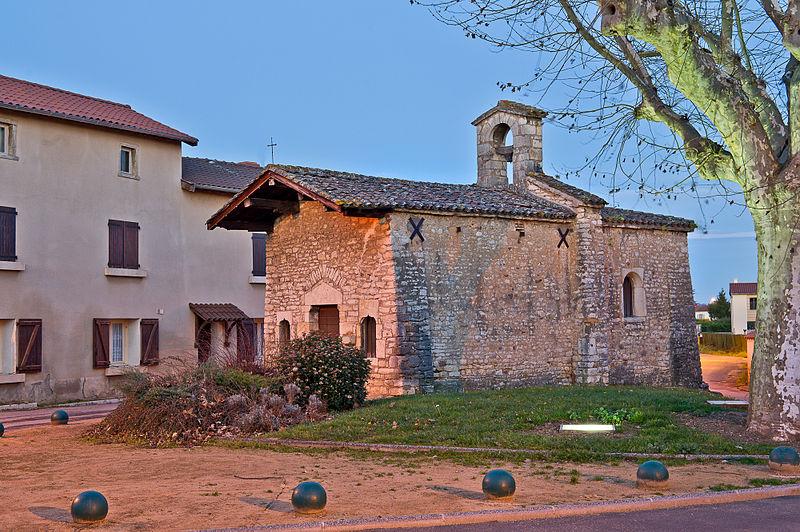 Photo du Monument Historique Eglise du hameau de La Chapelle situé à Quincieux