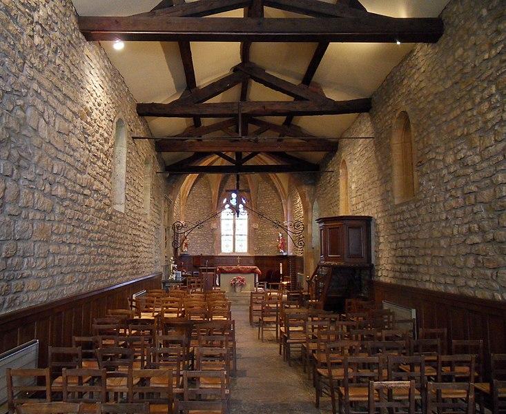 Photo du Monument Historique Chapelle Saint-Fortunat situé à Saint-Didier-au-Mont-d'Or