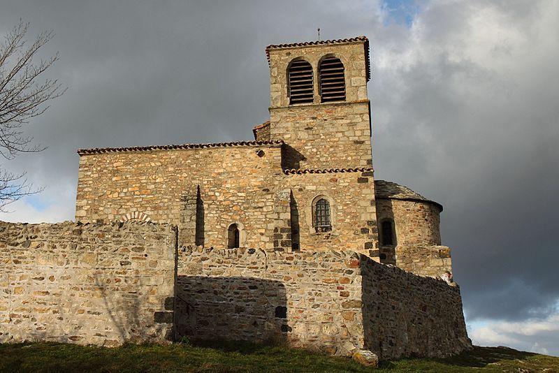 Photo du Monument Historique Chapelle Saint-Vincent situé à Saint-Laurent-d'Agny