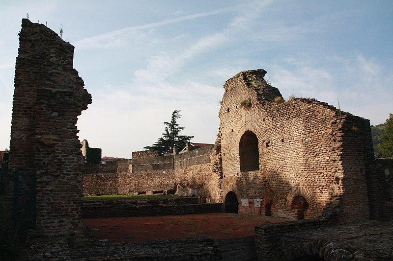 Photo du Monument Historique Palais du Miroir situé à Saint-Romain-en-Gal