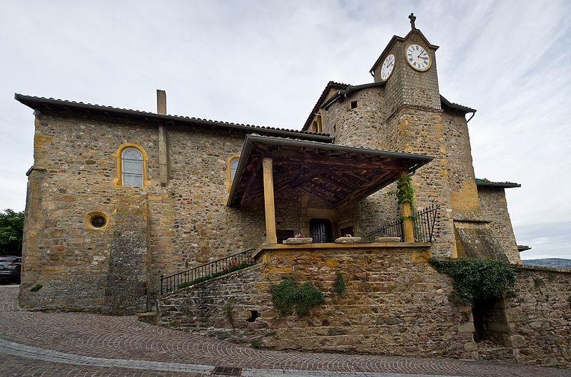 Photo du Monument Historique Eglise situé à Ternand