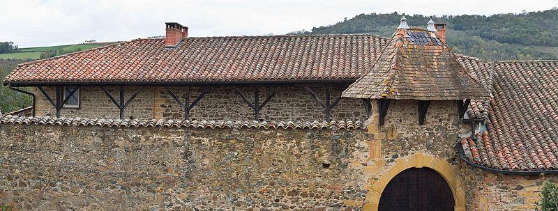 Photo du Monument Historique Ferme à galerie situé à Ternand