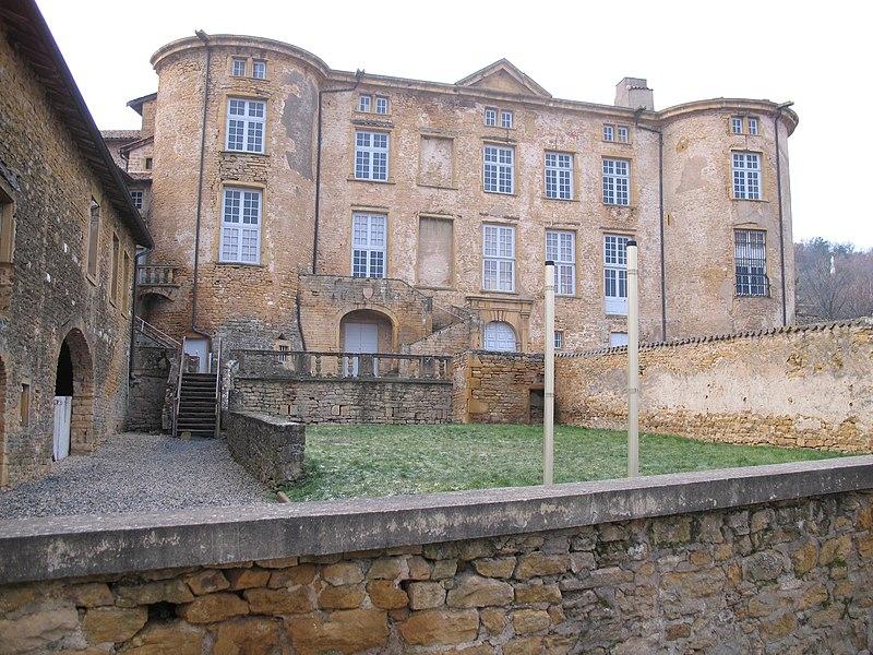 Photo du Monument Historique Château de Rochebonne situé à Theizé