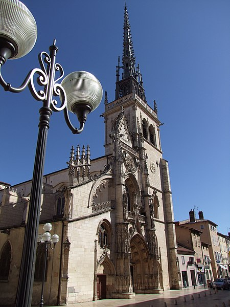 Photo du Monument Historique Eglise Notre-Dame-des-Marais situé à Villefranche-sur-Saône