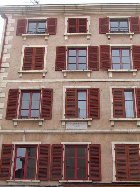 Photo du Monument Historique Maison situé à Villefranche-sur-Saône