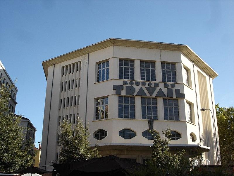 Photo du Monument Historique Bourse du travail situé à Lyon 03