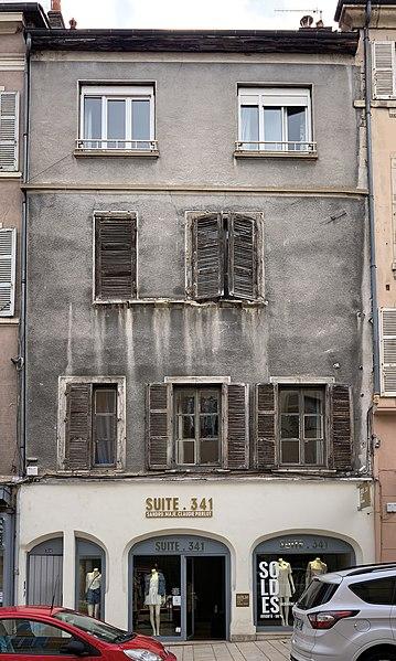 Photo du Monument Historique Immeuble situé à Villefranche-sur-Saône