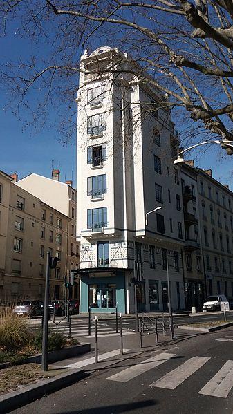 Photo du Monument Historique Immeuble situé à Lyon 09