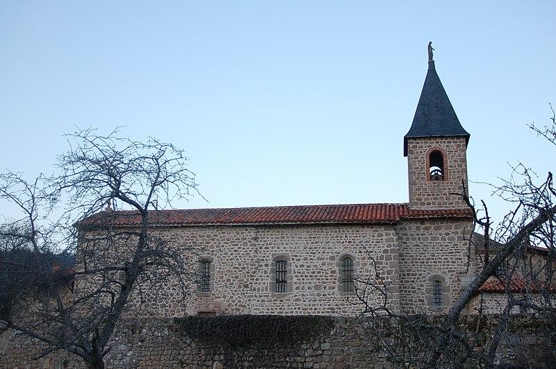 Photo du Monument Historique Chapelle Saint-Martin situé à Montrottier