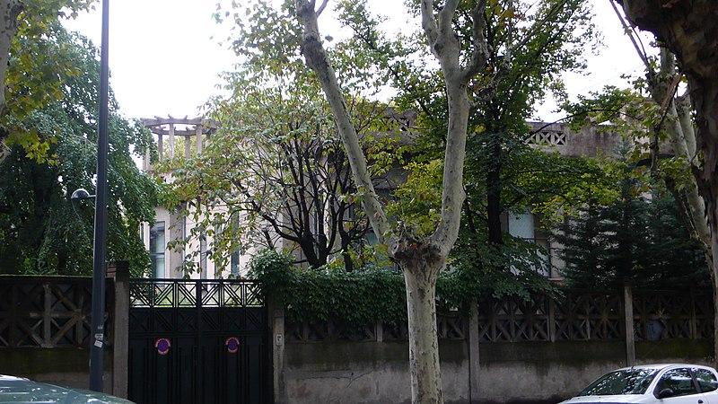 Photo du Monument Historique Villa dite Villa Lafont situé à Villeurbanne