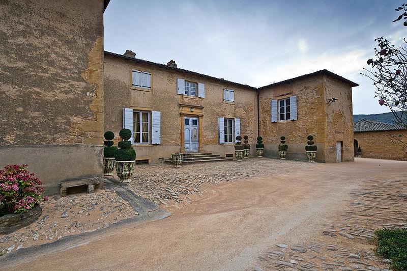 Photo du Monument Historique Domaine de la Garde situé à Jarnioux