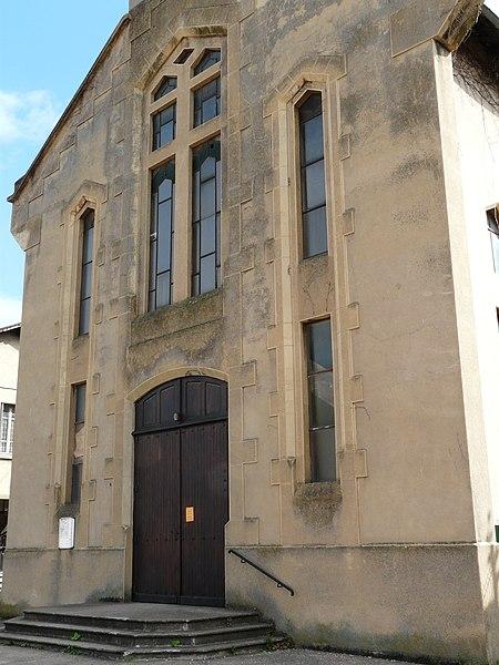 Photo du Monument Historique Eglise Sainte-Jeanne-d'Arc de Parilly situé à Vénissieux