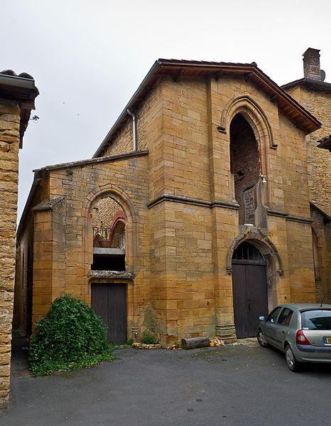 Photo du Monument Historique Chapelle des Prébendiers dite chapelle Sainte-Catherine situé à Jarnioux