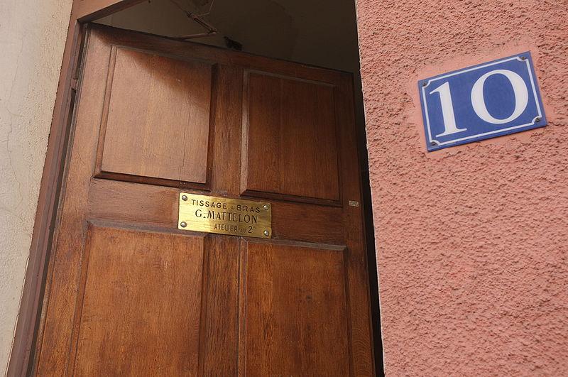 Photo du Monument Historique Atelier Mattelon situé à Lyon