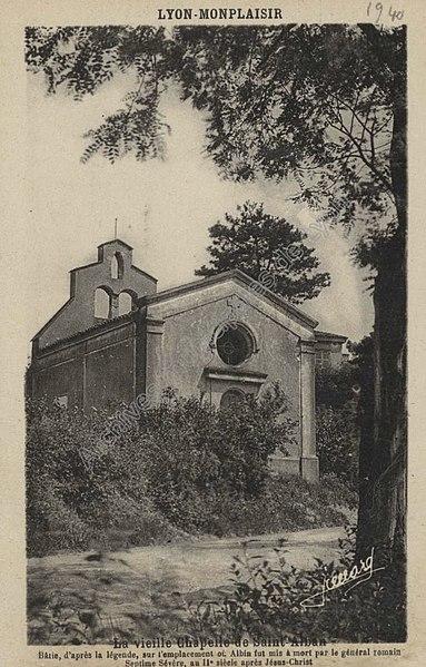 Photo du Monument Historique Chapelle Saint-Alban situé à Lyon
