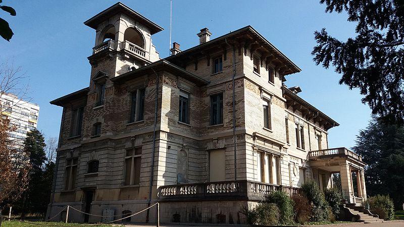 Photo du Monument Historique Ancienne propriété Gillet situé à Lyon 4e arrondissement