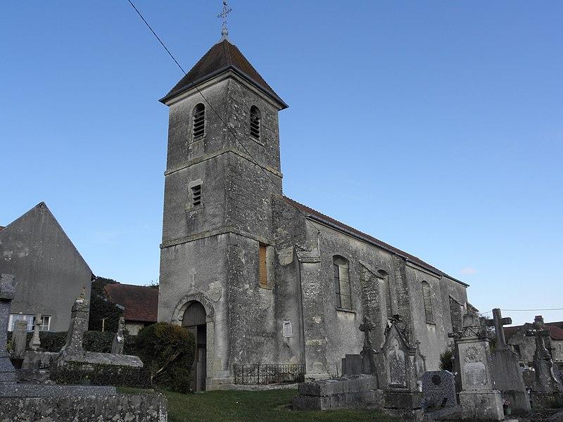 Photo du Monument Historique Eglise Saint-Martin situé à Achey