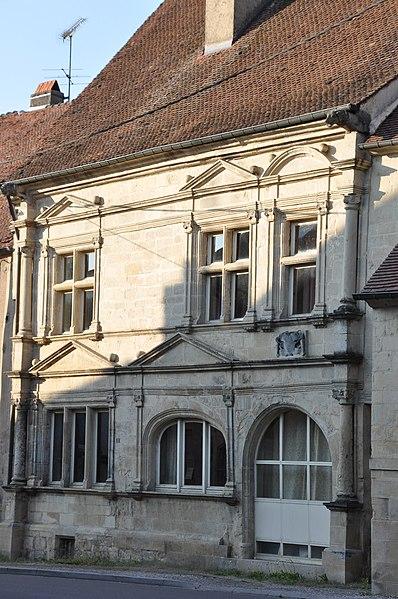 Photo du Monument Historique Maison Bucheron ou maison dite Espagnole situé à Amance
