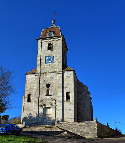 Photo du Monument Historique Eglise Saint-Etienne situé à Avrigney-Virey