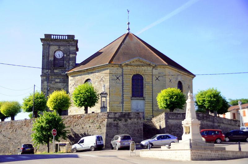 Photo du Monument Historique Eglise Saint-Martin situé à Blondefontaine