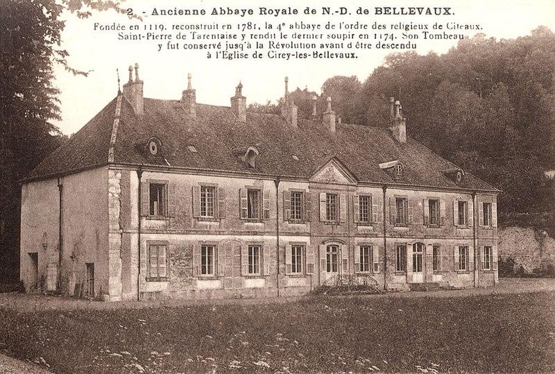 Photo du Monument Historique Ancienne abbaye de Bellevaux situé à Cirey