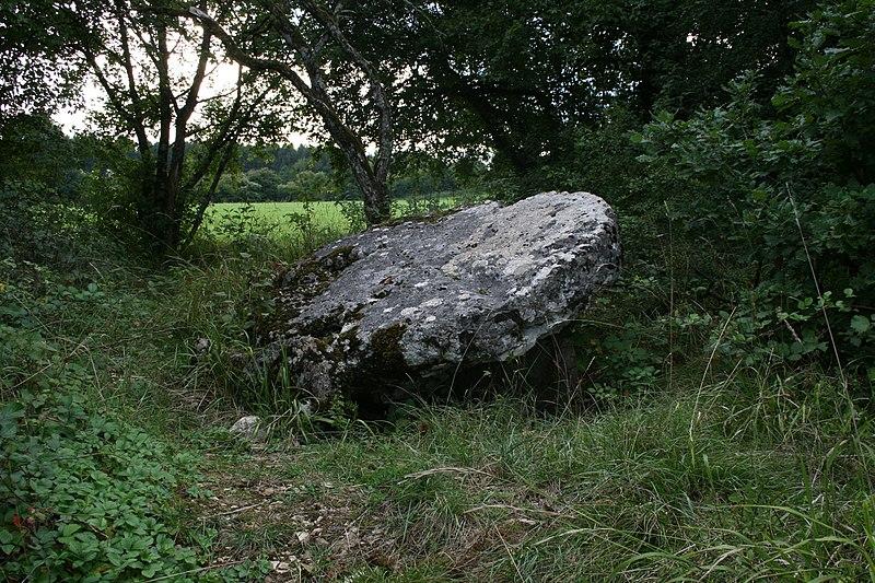 Photo du Monument Historique Dolmen situé à Colombe-lès-Vesoul