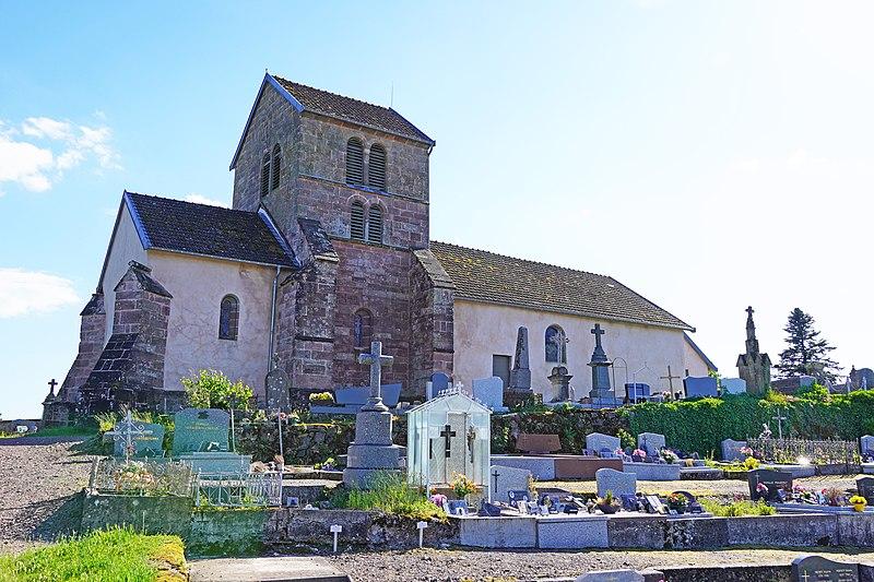 Photo du Monument Historique Eglise Saint-Martin situé à Faucogney-et-la-Mer