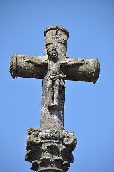 Photo du Monument Historique Croix de village situé à Faverney