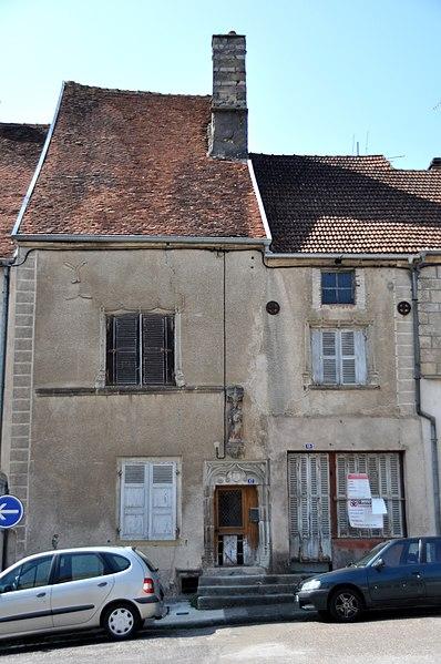 Photo du Monument Historique Maison du 16e siècle situé à Faverney
