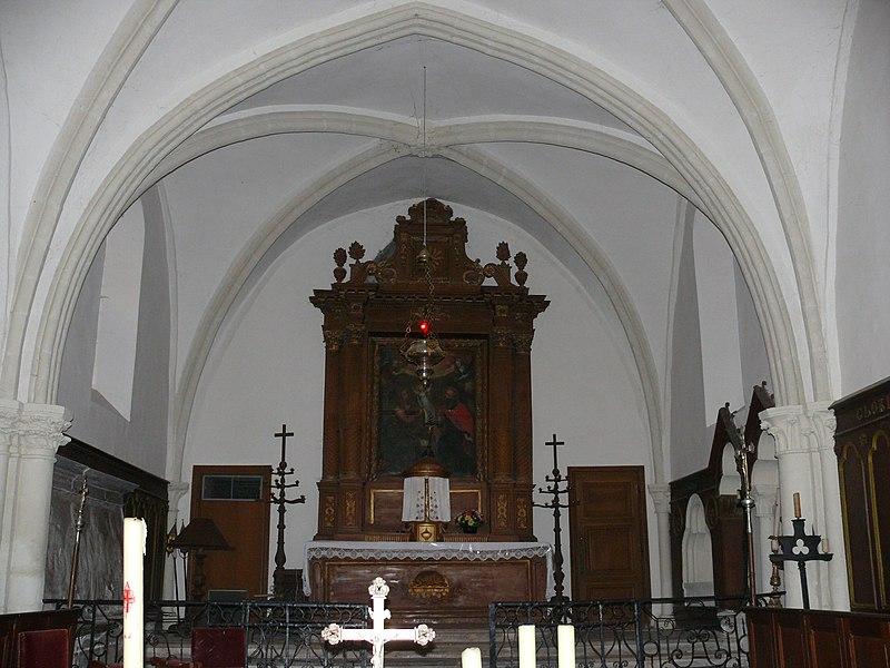 Photo du Monument Historique Eglise situé à Fondremand