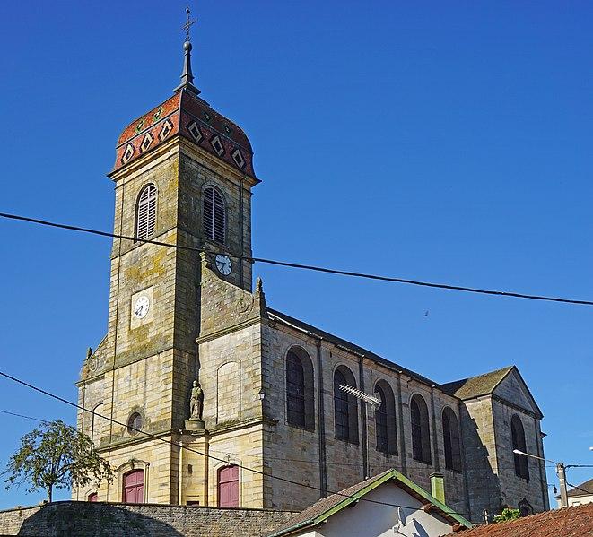 Photo du Monument Historique Eglise situé à Fougerolles