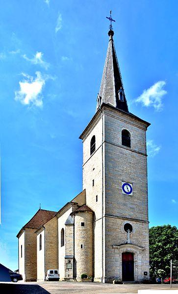 Photo du Monument Historique Eglise à l'exception de la sacristie reconstruite et du local de chaufferie situé à Fretigney-et-Velloreille
