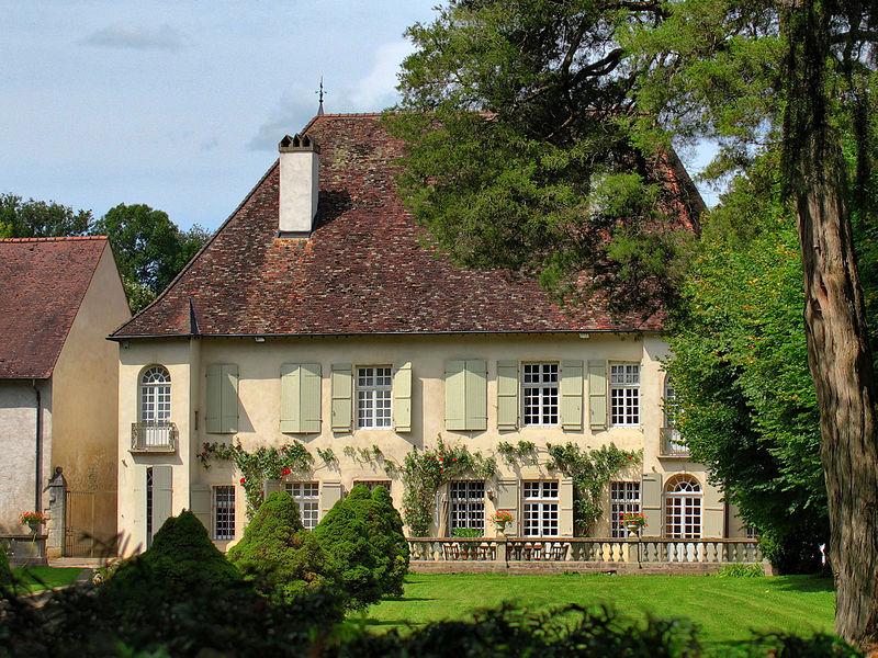 Photo du Monument Historique Château de Gezier situé à Gézier-et-Fontenelay