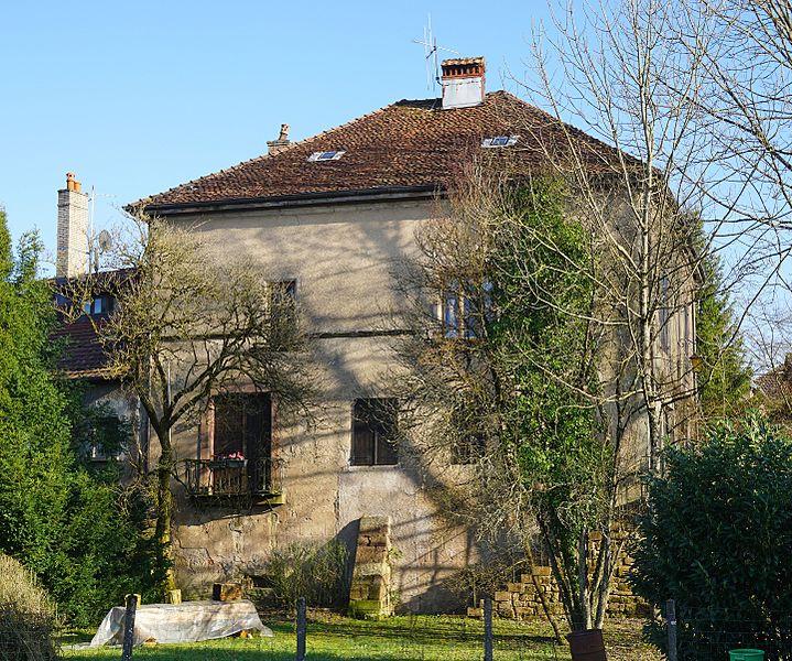 Photo du Monument Historique Maison dite Maison Racle sur le Treige situé à Granges-le-Bourg