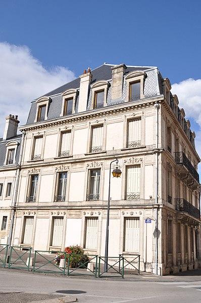 Photo du Monument Historique Immeuble, dit Maison Noir-Anney situé à Gray