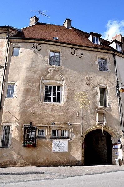 Photo du Monument Historique Maison situé à Gray
