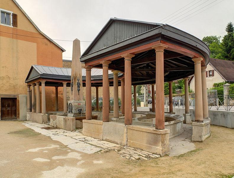 Photo du Monument Historique Fontaine-lavoir du Savourot situé à Héricourt