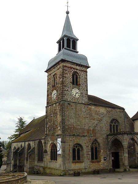Photo du Monument Historique Prieuré de Jonvelle et maison Coeurdacier situé à Jonvelle