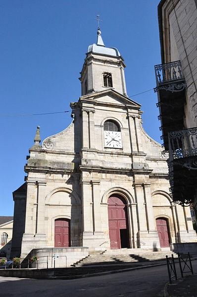 Photo du Monument Historique Eglise situé à Jussey