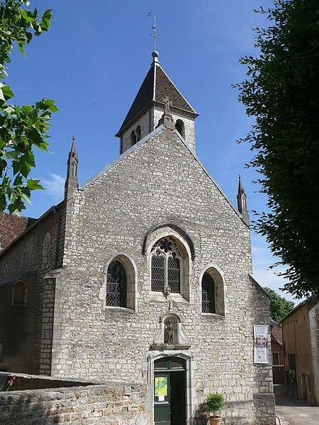 Photo du Monument Historique Eglise situé à Marnay