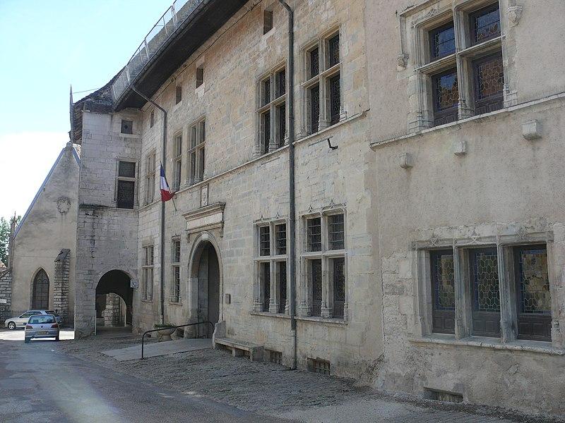 Photo du Monument Historique Hôtel Terrier de Santans situé à Marnay