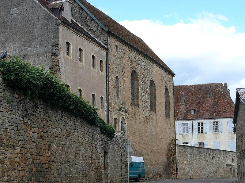 Photo du Monument Historique Ancienne abbaye de Clarisses-Urbanistes situé à Montigny-lès-Vesoul