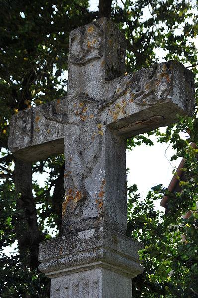 Photo du Monument Historique Croix dite Croix Saint-Roch situé à Pesmes